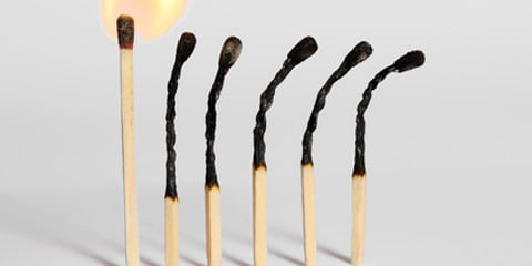 Betriebliche Fehltage wegen Burnout steigen drastisch an