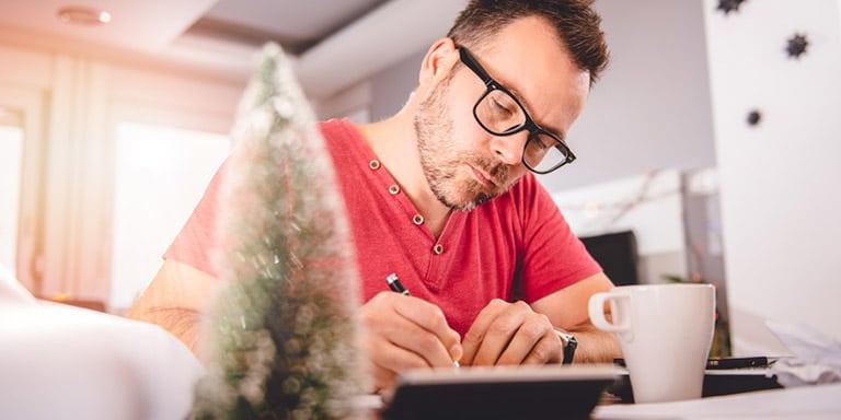 Jobsuche in der Vorweihnachtszeit