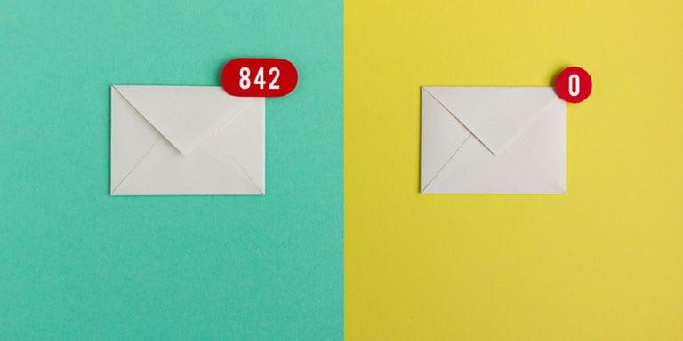 E-Mails im Büro