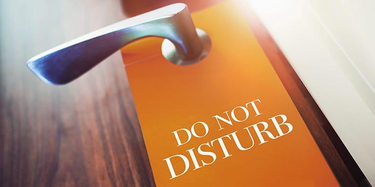 Bitte nicht stören - Tipps für konzentriertes Arbeiten