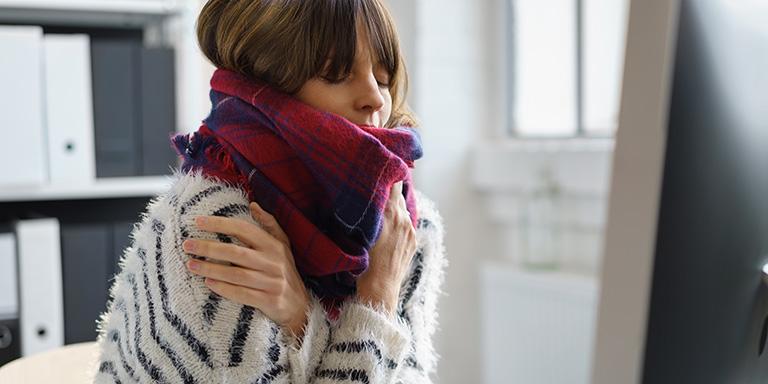 Winter im Büro - trockene Luft macht krank